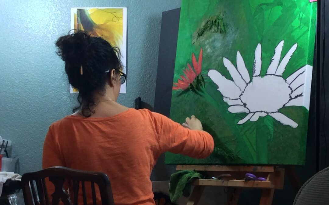 Painting the Father's Heart